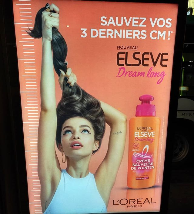 Même chez ces dames on joue à « qui aura la plus longue ? » 🤔🤥🙄........#VuALaPub #publicité #elseve #loreal #lorealparis #hairstyle #hair #ad #commercial #haircolor #longhairdontcare #elsevelorealparis #dreamlong #long #shampoo #instahair #girl #cheveuxlong #cheveux #queuedecheval #queue #soincheveux #soin #longhair #longhairstyles #longhairgoals #womanportrait #beautymodel #model #lumagrothe