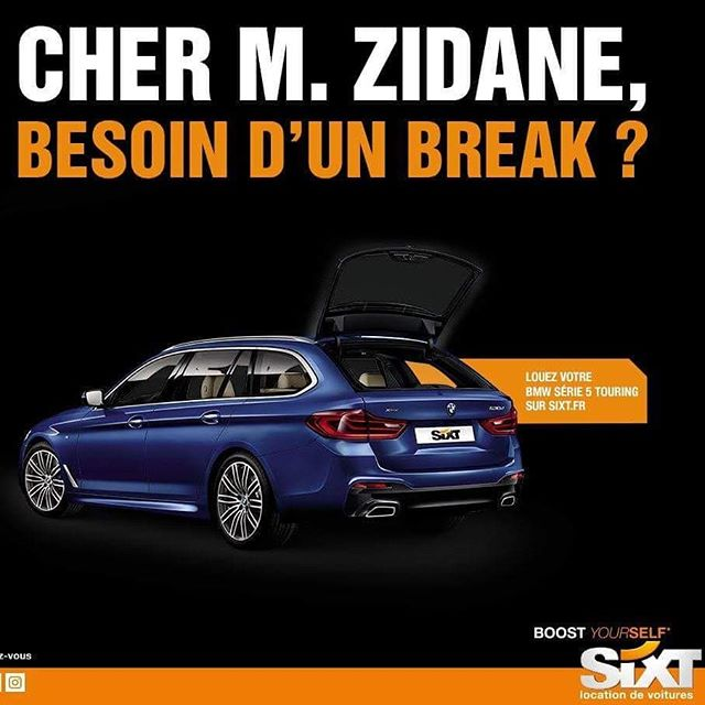 Une « Zidadine » pour la retraite .........#VuALaPub #publicité #publicité #campagne #campaign #ad #advert #advertisement #pun #print #doyoutravel #featuremeinstagood #laliga #laligasantander #halamadrid #madrid #adios