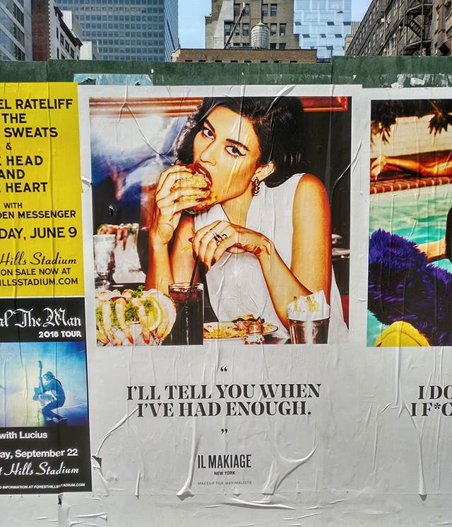 Quand t'es de Neuilly, tu fais tache au McDonald's .........#VuALaPub #publicité #publicite #advert #billboard #ad #print #streetsofnewyork #nycfood #nyc #nycstreets #ilmakiage #bonappetit #enjoy #foodporn #foodstagram #foodgram #quote #citation #maximalism #makeupformaximalists #enough #bored #lovely #igersnewyork #igersparis #igersfrance #doyoutravel #photography #fastfood