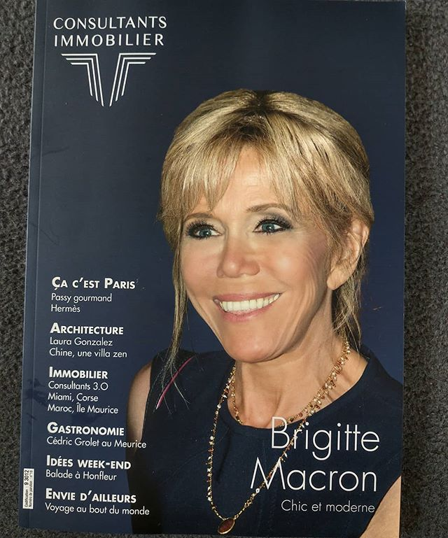 Tiens, Brigitte Macron se lance dans l'immobilier 🤔.........#brigittemacron #brigitte #macron #presidente #VuALaPub #publicité #publicite #une #frontcover #magazine #presse #press #lady #rich #privilege #elite #business #management #finance #economy #economie #print #luxury #luxe #fashion #glamour #hollywood #show