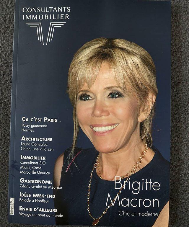 Tiens, Brigitte Macron se lance dans l'immobilier