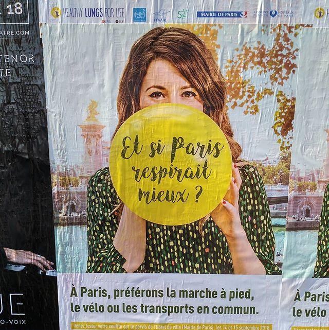 Ministres, maires, députés et sénateurs, à vous l'honneur ......@edouardphilippepm @christophe_castaner @gerardcollomb @brunolemaire @florenceparly @penicaudmuriel @jeanmichel_blanquer @annickgirardin @agnesbuzyn@n.hulot.......#paris #air #publicite #publicité #campagnepub #pollution #voiture #sante #santé #bike #freshair #ballon #baloons #balloon #yellowball #yellowballoon #transports #transport #streetsofparis #streetart #parisian #parisienne #sightseen #tourist #walking #walk #morale #faiscequejedispascequejefais #lifestyle #breathe